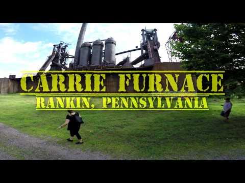 Carrie Furnace Tour Rankin, Pennsylvania