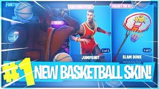 "Playing with LeBron James on FORTNITE!!! Fortnite ""JUMPSHOT and TRIPLE THREAT"" SKIN MIXTAPE.."