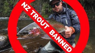 New Zealand Trout Fishing DESTROYED by Stupid LAW