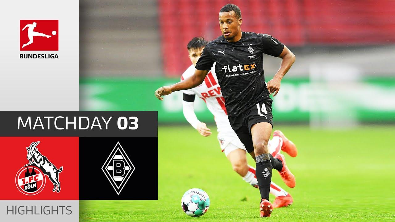 Download 1. FC Köln - Borussia M'gladbach   1-3   Highlights   Matchday 3 – Bundesliga 2020/21