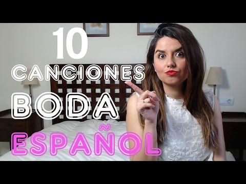 10 Canciones en Español para la ceremonia de Boda
