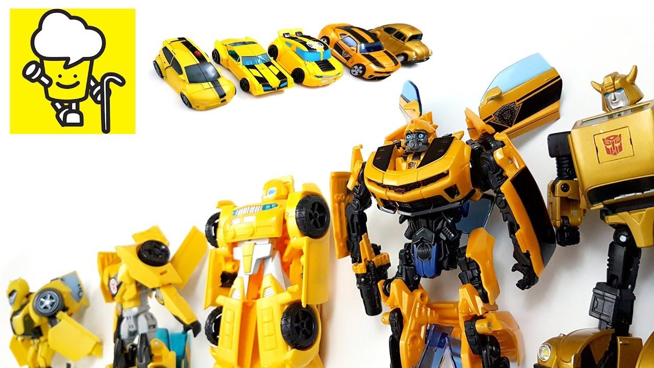 Transformer Bumblebee Robot Yellow Car Toys トランスフォーマー 變形金剛