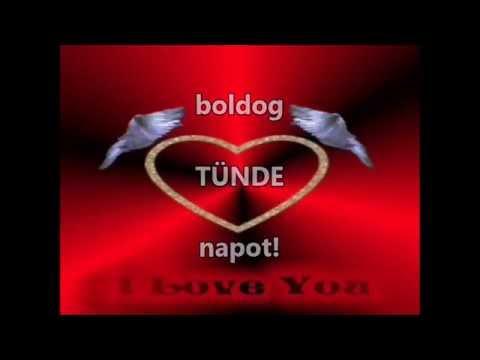 tünde névnap köszöntő Névnapi verses köszöntők Tünde napra   YouTube tünde névnap köszöntő