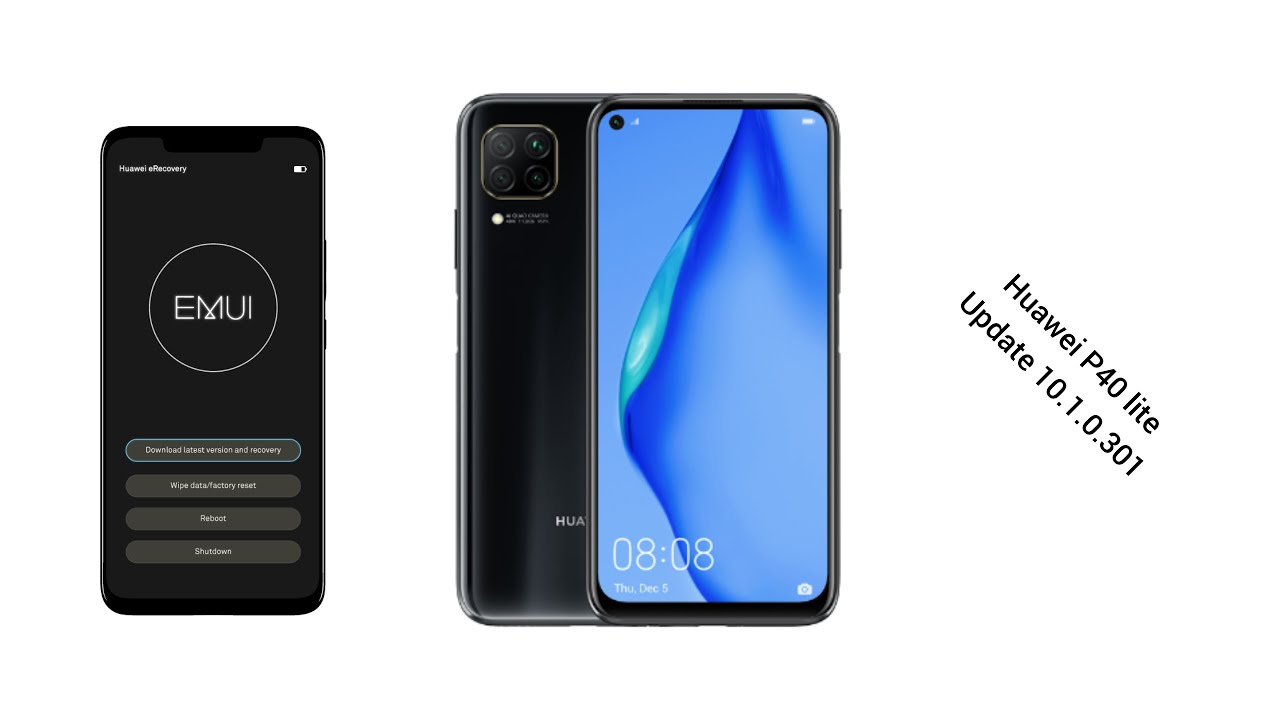 Huawei P40 lite update 10.1.0.301