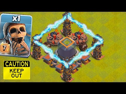 FORCE FIELD ACTIVATED!!🔸TROLL NOOB CHAMP PLAYERS!!🔸Clash Of Clans 😀
