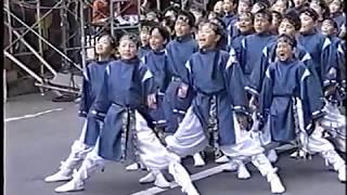 西岡北 祭風隊 YOSAKOIソーラン 2001