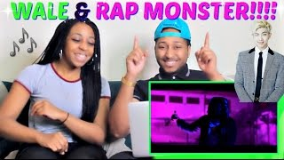 "Rap Monster Featuring Wale ""Change"" REACTION!!!!"