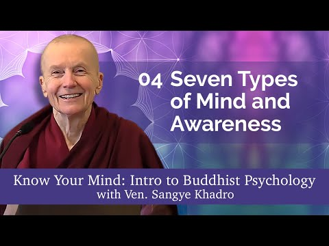04 Know Your Mind: Seven Types of Mind and Awareness 06-20-21