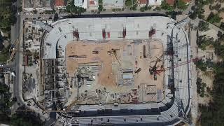 Νέο Γήπεδο ΑΕΚ Αγία Σοφία - Aerial Footage of AEK's New Stadium Agia Sofia   DJI PHANTOM 3 PRO