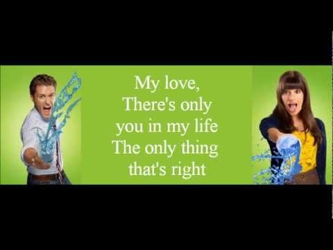 Glee - Endless Love (lyrics)