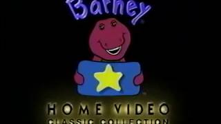 Opening & Closing to Barney: It's Time for Counting 1998 VHS [True HQ]