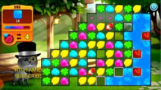 Lets play Meow match level 182 HARD LEVEL HD 1080P