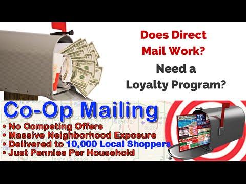 Direct Mail Advertising Birmingham AL - Free Digital Loyalty Program, Online Coupons