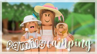 Family Camping Day | Roḃlox Bloxburg Roleplay