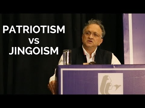 Ramachandra Guha on 'Patriotism versus Jingoism'