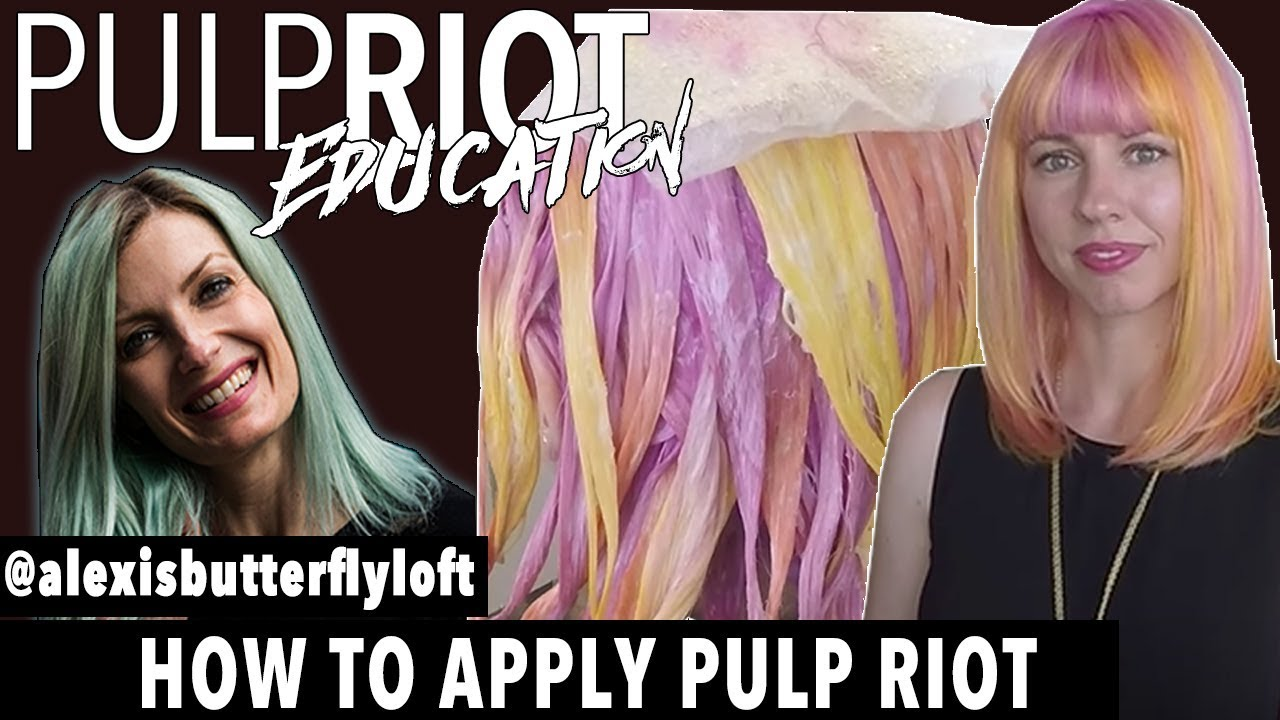Pulp Riot How To Basics Episode 1 Ly Hair Color