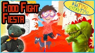 Books for Kids Read Aloud: FOOD FIGHT FIESTA (A Tale About La Tomatina with a sprinkle of Spanish!)