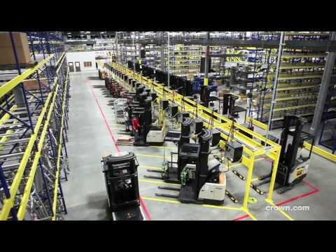 Why Advance Auto Chooses Crown For Forklift Parts