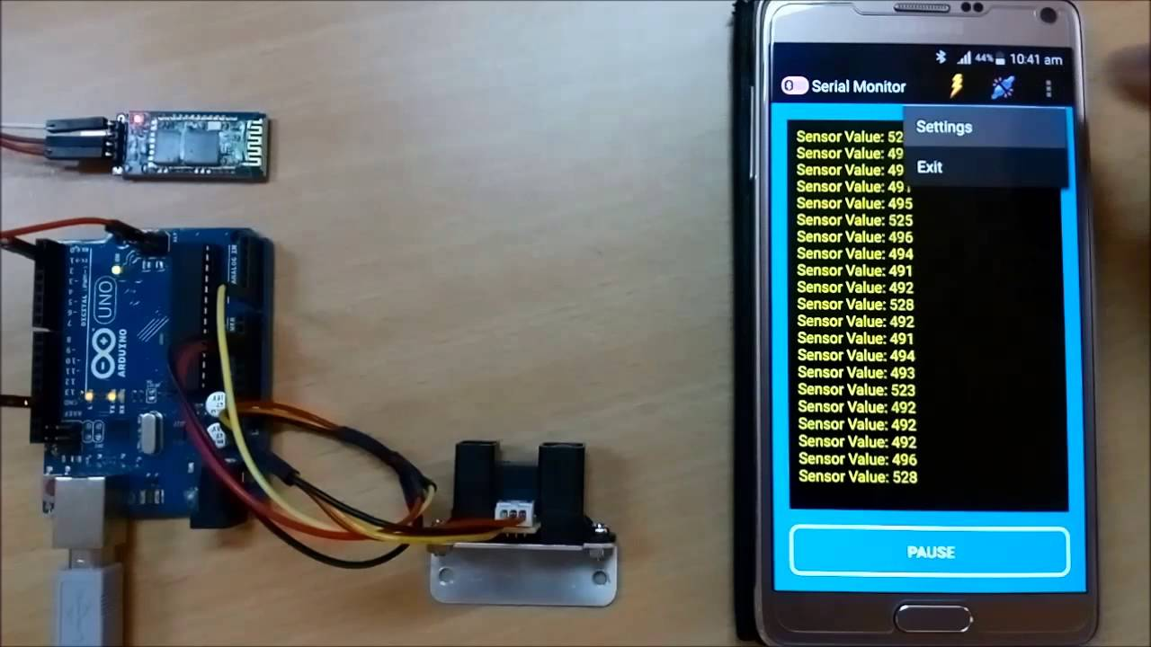 Bluetooth Serial Monitor Android app