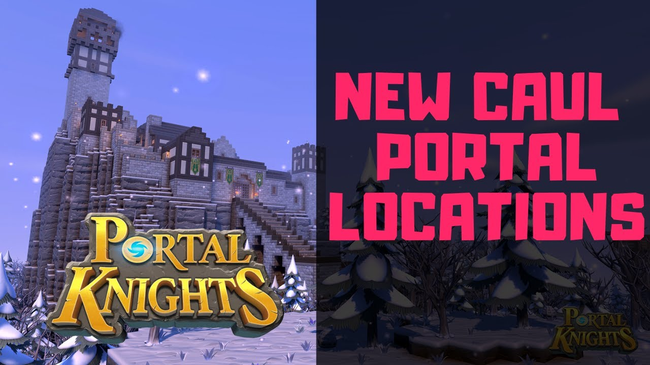 Portal Knights: New Caul Portals Split-Screen Gameplay
