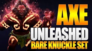 Dota 2 Axe Unleashed - Exclusive Bare Knuckles Set - TI9 Battle Pass