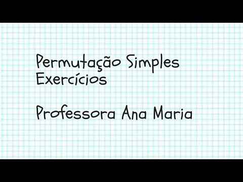 permutação-simples--exercícios
