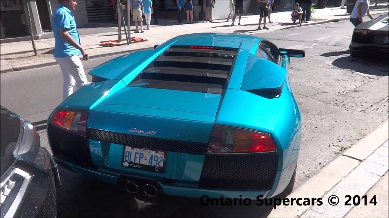 Lamborghini Murcielago 40th Anniversary Edition Almost Crashes In