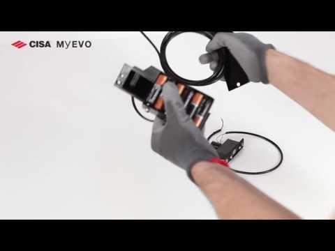 CISA MyEVO Serratura motorizzata per porte blindate   installazione