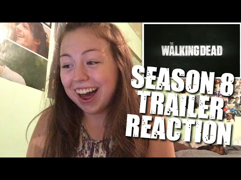 the walking dead season 8 trailer reaction youtube. Black Bedroom Furniture Sets. Home Design Ideas