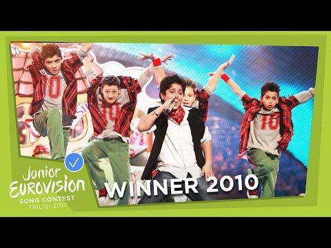JUNIOR EUROVISION 2010: VLADIMIR ARZUMANYAN - MAMA - ARMENIA 🇦🇲  - WINNER