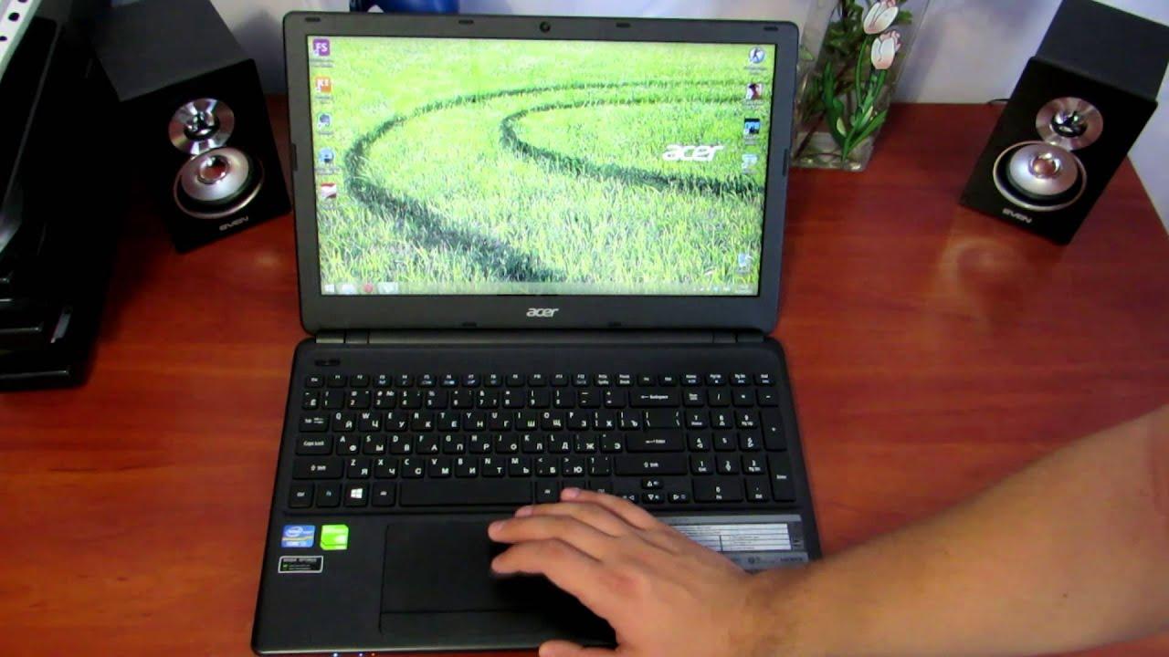 Обзор Acer Aspire E1-570G - YouTube