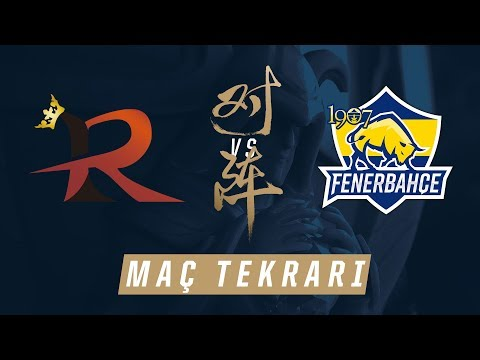 Rampage ( RPG ) vs 1907 Fenerbahçe Espor ( FB ) Maçı | Worlds 2017 Ön Eleme 1. Tur