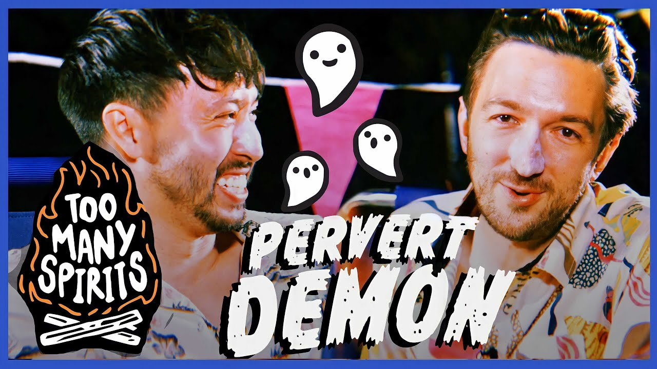 Ryan & Shane Get Drunker & Read More Spooky Campfire Stories • Too Many Spirits