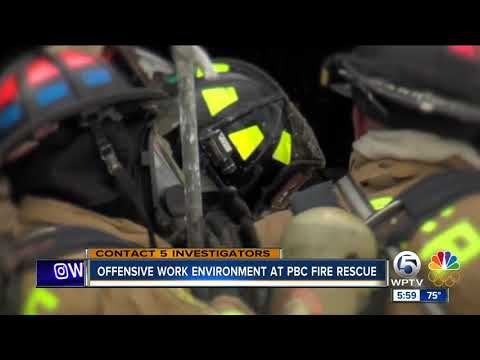 County HR investigation finds 'offensive work environment' inside Palm Beach County Fire Rescue