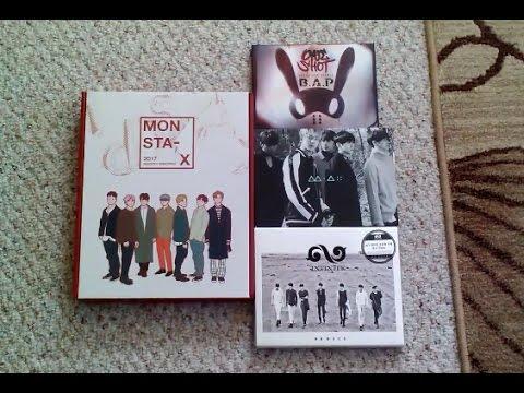 Kpop Haul #11 | Monsta X, Infinite, BAP, and B1A4