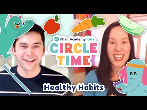 Healthy Habits And Routines For Kids | Read About Ollo's Bike | Circle Time with Khan Academy Kids