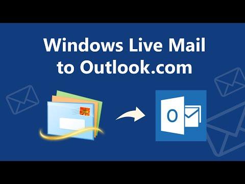How To Export Windows Live Mail To Outlook.com / Hotmail.com?