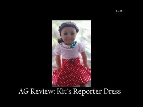 AG Review: Kit's Reporter Dress