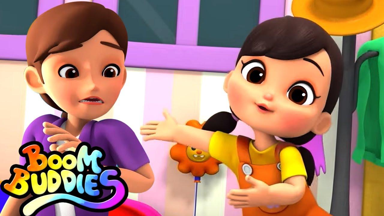 Saya tidak mau   Lagu anak anak terpopuler   Bayi sajak   Boom Buddies Indonesia   Animasi