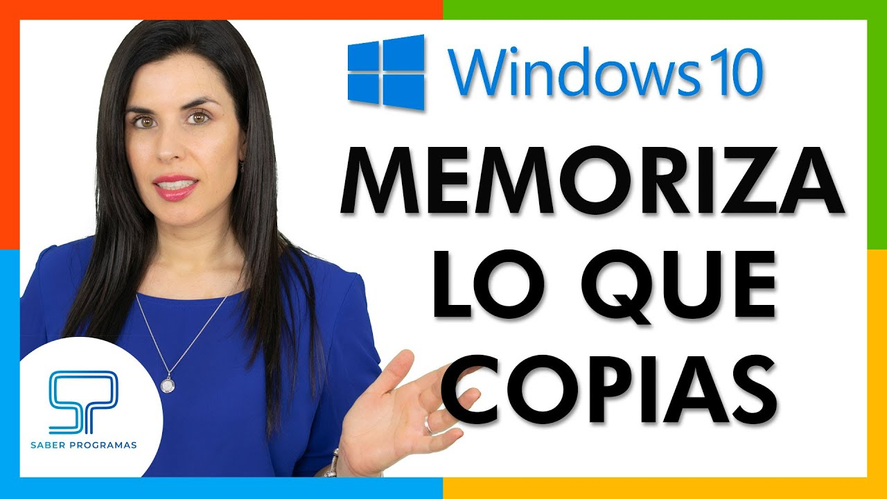 Windows | 💡 TIP Cómo activar y usar el portapapeles de Windows 10 | TRUCO | Tutorial en español HD