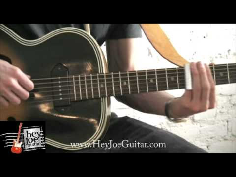 "Manhattan Guitar Lesson: ""Mississippi Delta Blues"""