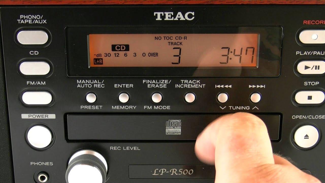 TEAC LP-R500 Wood