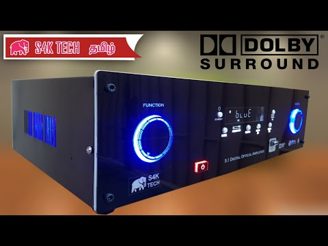 5.1 Dolby digital Amplifier | Class AB | With Bluetooth and FM Radio