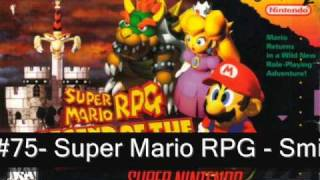 The Top 100 Songs On The SNES (100-61)