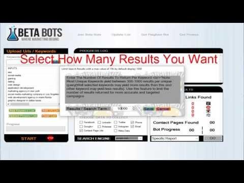 PB Search Engine Scraper And Data Harvester