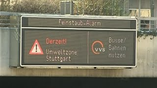 Dieselverbote in Stuttgart? - So reagieren Opposition und Wirtschaft
