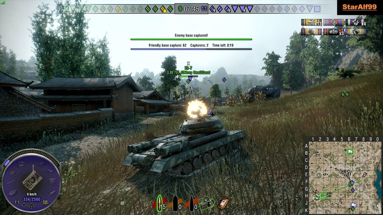 Wot Xbox One/PS4 IS-4 5 3 Dmg !!! - StarAlf99
