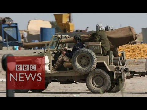 Iraq: On the front line in the battle for Tikrit - BBC News