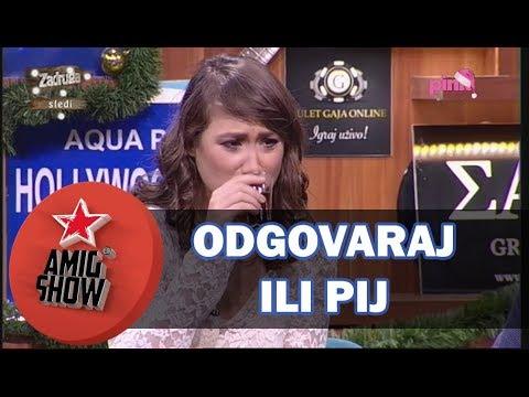Ami G Show S10 - E16 - Odgovaraj ili pij