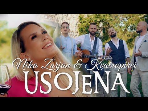 NIKA ZORJAN & KVATROPIRCI - USOJENA (Official Video)